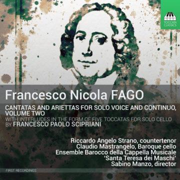 Riccardo Angelo Strano: Cantatas y Ariettas de Fago