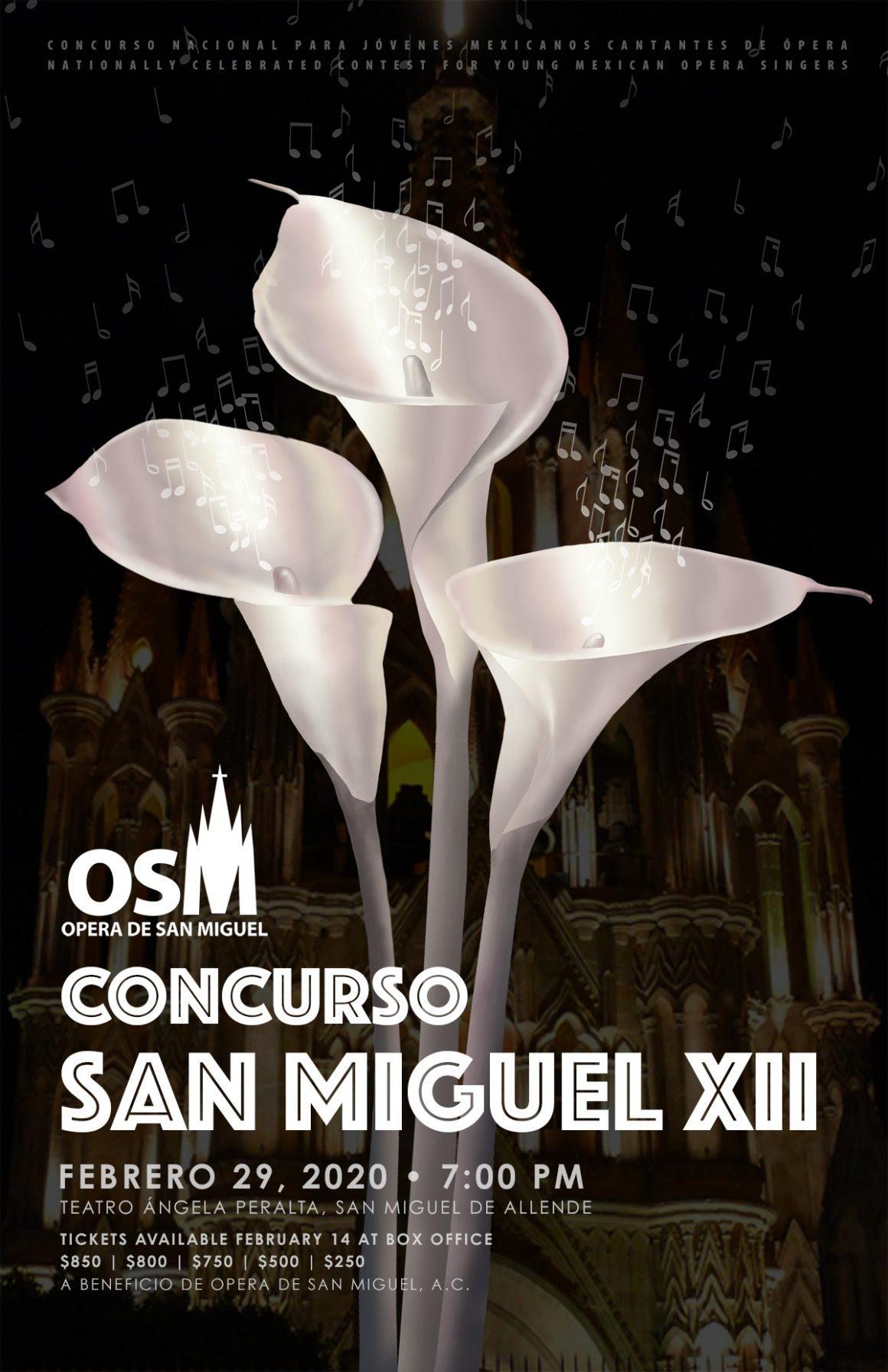 Finalistas del Concurso de la OSM