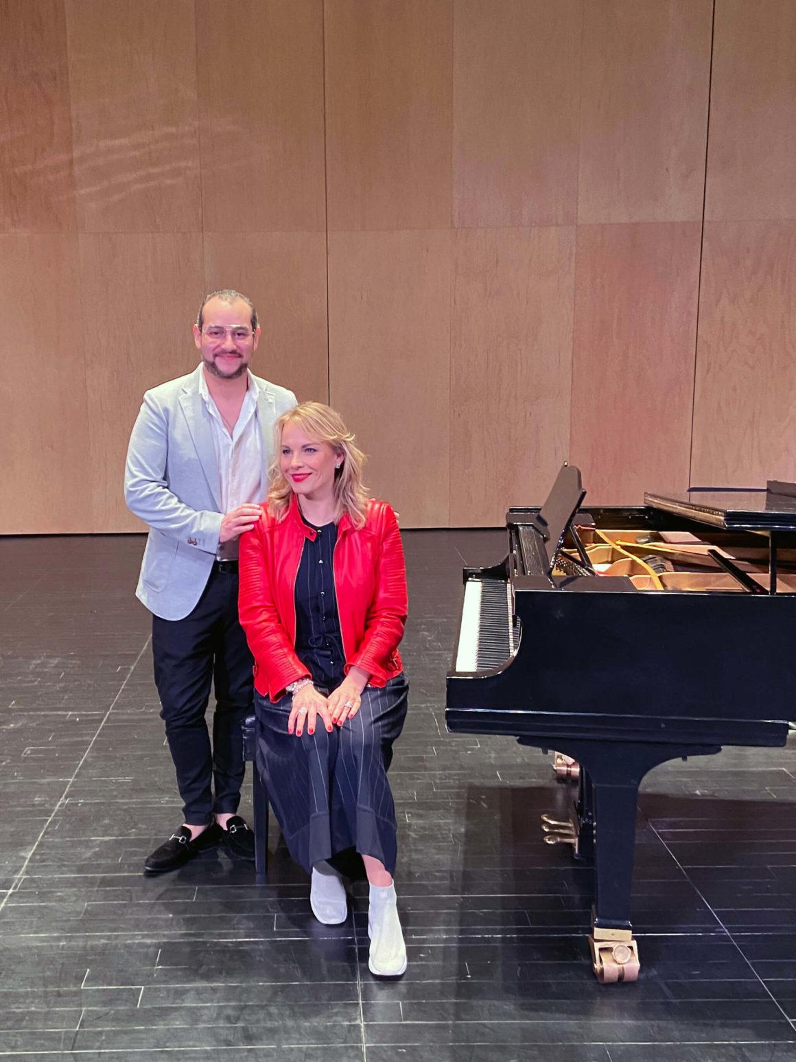 Clases magistrales con Elīna Garanča y Javier Camarena