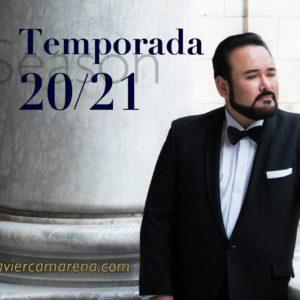 Javier Camarena anuncia su regreso a los escenarios