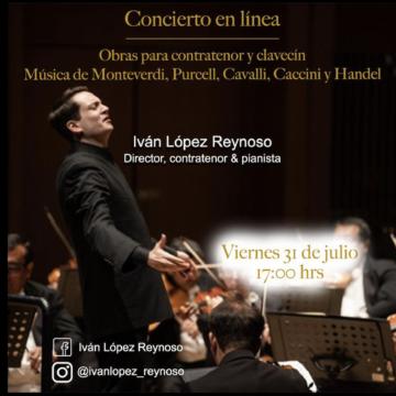 Música barroca, como en el Barroco… Recital de Iván López Reynoso
