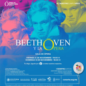 🇲🇽 «Beethoven y la ópera» en Monterrey